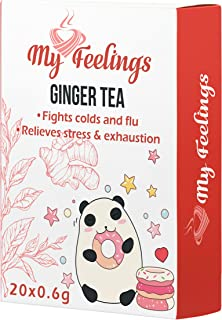 My Feelings - Té de jengibre. Extracto en polvo (20 sticks de 0,6 g / 0,4 oz)