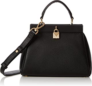 05dd2628a98b1f Michael Kors Womens Gramercy Sm Th Satchel Top-Handle Bag Black (Black)