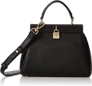 Michael Kors Womens Gramercy Sm Th Satchel Top-Handle Bag Black (Black)