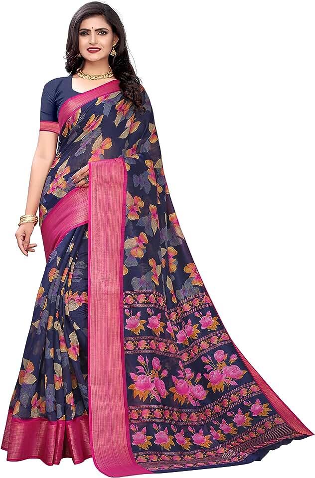 Indian Rajsundari Creation Casual Pure Cotton Saree for Women Saree