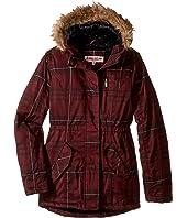 Urban Republic Kids - Cotton Twill Jacket W/Fur Trim (Little Kids/Big Kids)