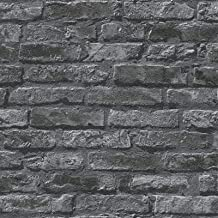 Papier peint Papier peint R/étro Brique Motif 3d St/ér/éo /Épais Simulation Imperm/éable Brique Amovible Papier Peint 0.53 1m