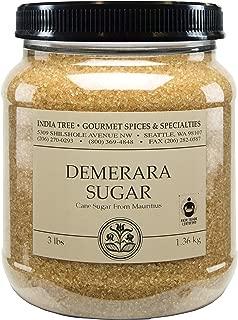 India Tree Demerara Sugar, 3 lb (Pack of 2)
