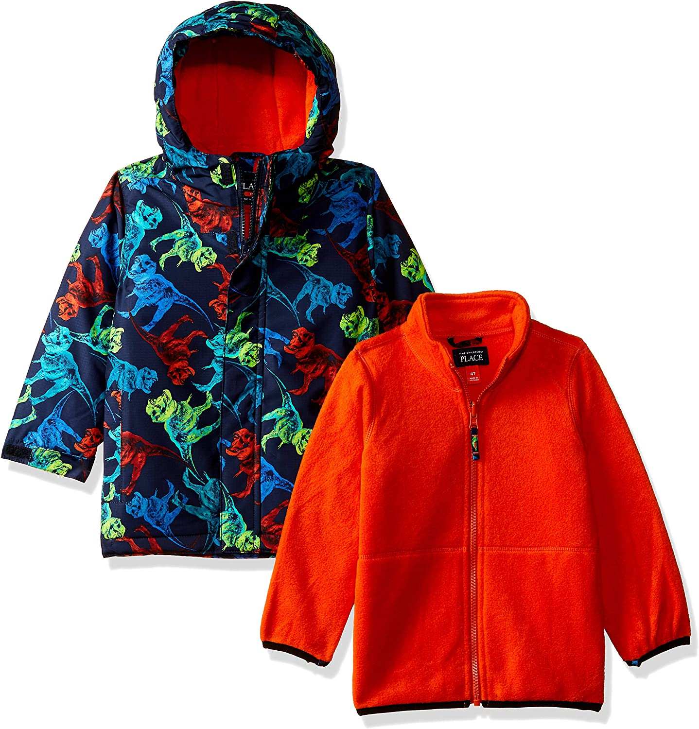 The Children's Place Toddler Boys' Print 1 Cheap sale Same day shipping Jacket 3 In