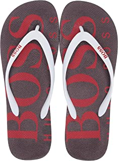 e728dfc44b472 Hugo Boss Mens Wave Thong Rubber Sandal Flip-Flop