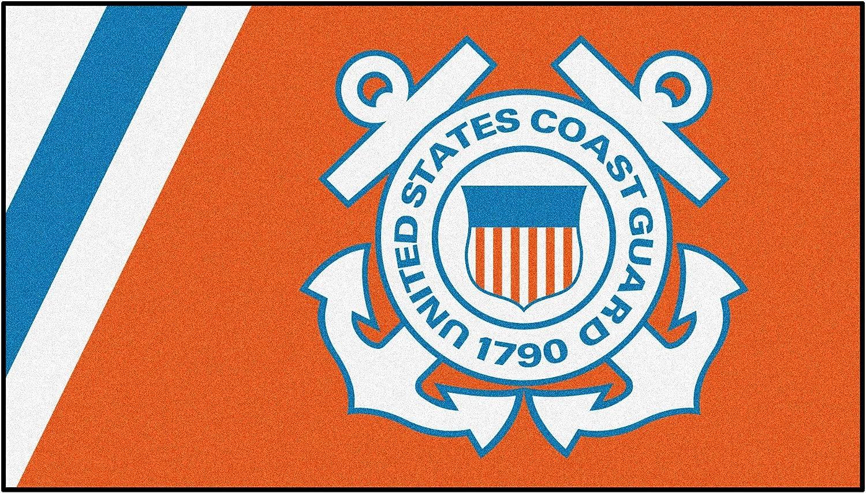 U.S. Coast Guard 3ft. x Plush Area San Diego New color Mall Rug 5ft.