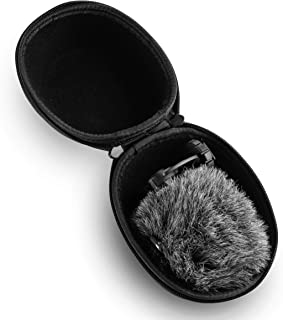 Caseling Hard Case Fits Rode Video Mic with Rycote Lyre Shock Mount and Deluxe Furry Windshield