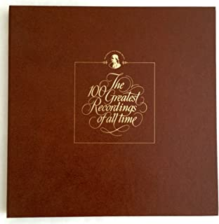 franklin mint 100 greatest recordings