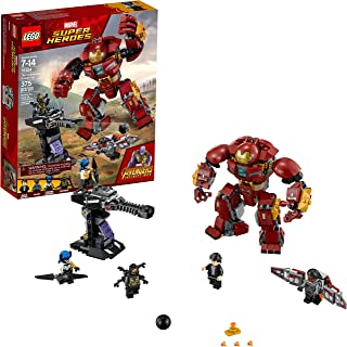 LEGO Marvel Super Heroes Avengers: Infinity War The Hulkbuster Smash-Up 76104 Building..