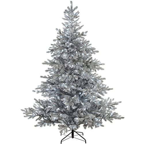 Artificial Christmas Trees Amazon Uk: Pre Lit Christmas Tree 6 Ft: Amazon.co.uk