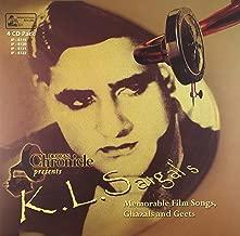 K.L.Saigal's Memorable Film Songs, Ghazals & Geets (4-CD Set)