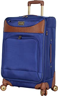 Caribbean Joe Luggage Castaway Expandable Suitcase With Spinner Wheels (Royal Blue)