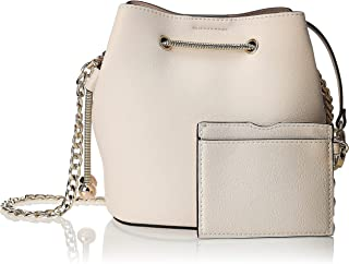 Zeneve London Womens Bucket Bag, White - 1198587000