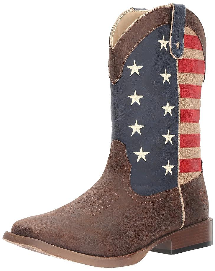 ROPER Men's American Patriot Western Boot
