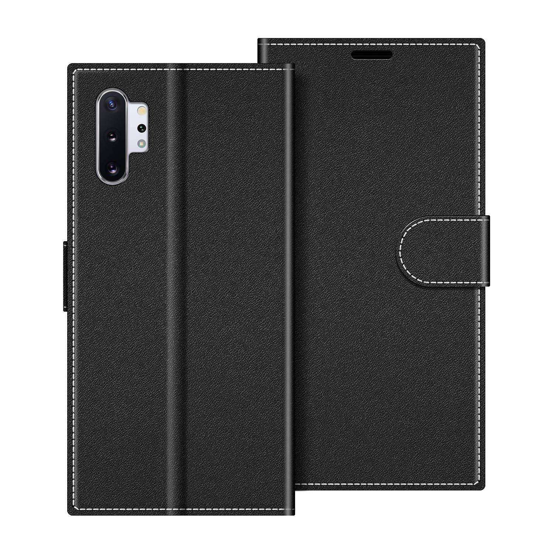 COODIO Funda Samsung Galaxy Note 10 Plus con Tapa, Funda Movil Samsung Note 10 Plus, Funda Libro Galaxy Note 10+ Carcasa Magnético Funda para Samsung Galaxy Note 10 Plus, Negro: Amazon.es: Electrónica