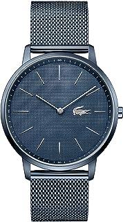 ساعة لاكوست للرجال بمينا ازرق وسوار ستانلس ستيل ازرق مطلي بطلاء ايوني - 2011057
