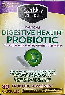 Berkley Jensen Daily Care Digestive Health Probiotic, 80 Capsules