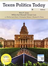 Bundle: Texas Politics Today 2017-2018 Edition, 18th + MindTap Political Science, 1 term (6 months) Printed Access Card