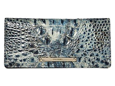 Brahmin Melbourne Ady Wallet (Glacier) Wallet Handbags