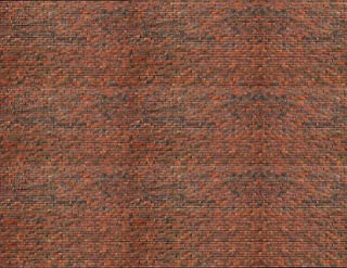 O Scale Brick Paper 8.5x11 Pack of 5 (Dark Calico)