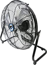 "Maxx Air HVFF14UPS Multi Purpose High Velocity 3-Speed, 14"" Metal Floor Fan"