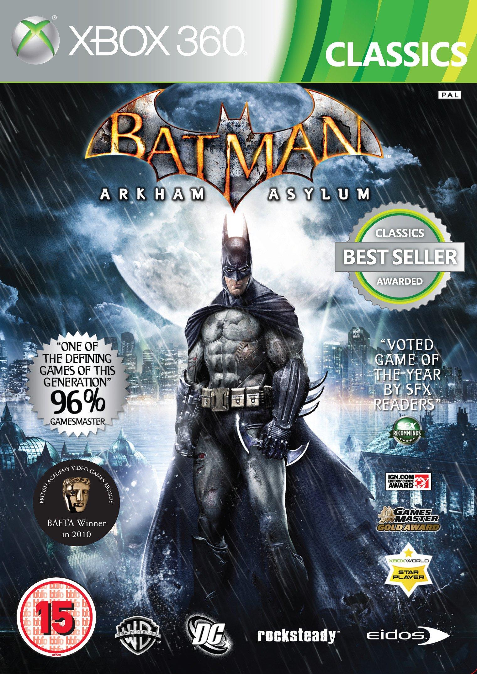 Batman: Arkham Asylum - Classics (Xbox 360)[Importación inglesa]: Amazon.es: Videojuegos