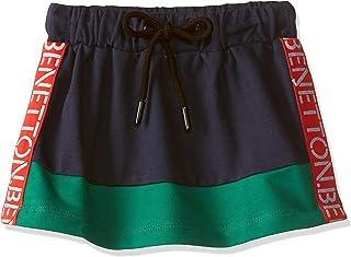 United Colors of Benetton Baby Girl's Regular Fit Mini Skirt