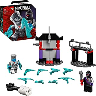 LEGO 71731 NINJAGO Legacy Epic Battle Set – Zane vs. Nindroid Robot Warrior with Spinning Battle Toy