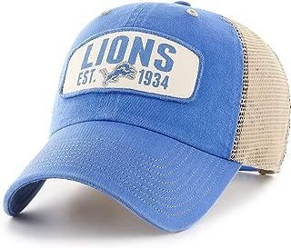 vintage detroit lions snapback