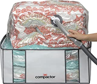 Compactor Space Saver Vacuum Storage Solution Vacuum Bag to Protect Clothes, Pillows, Duvets, Comforters, Blankets (XXL (26