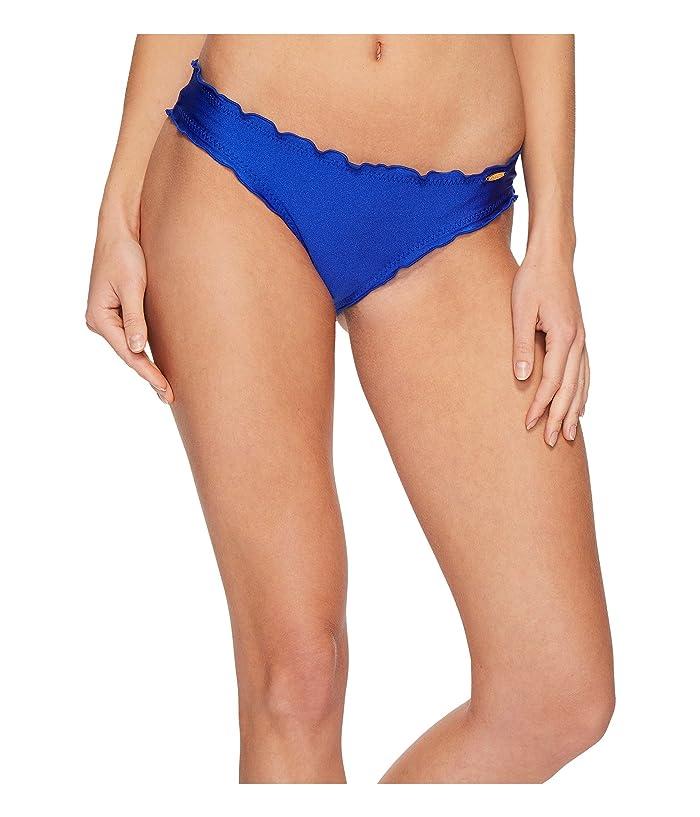 Luli Fama Cosita Buena Full Ruched Back Bikini Bottom (Electric Blue) Women