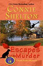 Escapes Can Be Murder: A Girl and Her Dog Cozy Mystery (Charlie Parker Mysteries Book 18)