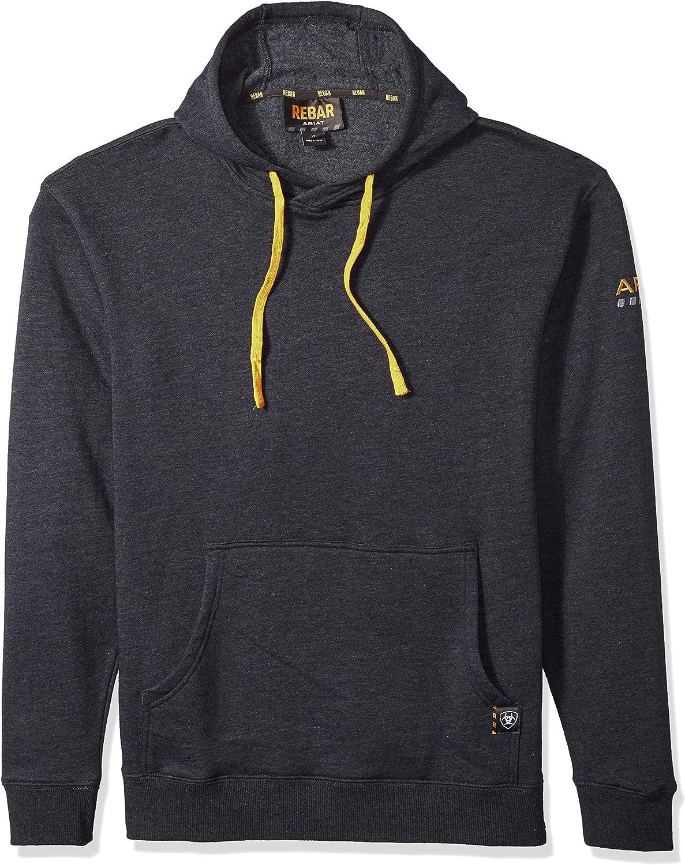 Ariat Men's Big and Tall Rebar Logo HoodieSweatshirt