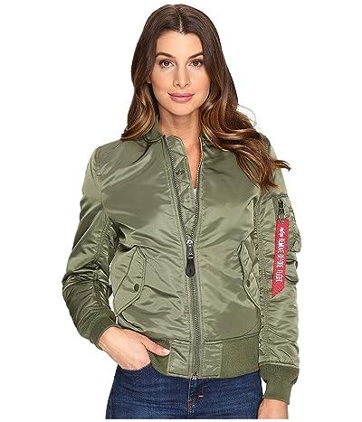 Alpha Industries MA-1 Flight Jacket (Sage Green) Women