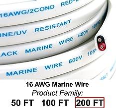 GS Power's 16 Ga (True American Wire Gauge) AWG Tinned Oxygen Free Copper OFC Duplex..