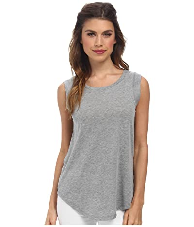 Alternative Cap Sleeve Crew (Grey Heather) Women