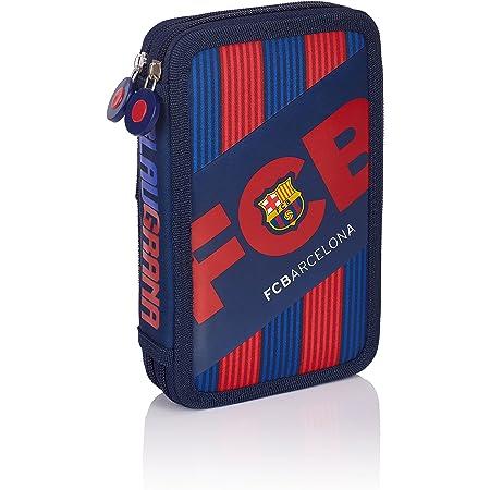 FC Barcelona Barca Fan 5 Estuches, 20 cm, 1.28 Liters, Azul (Navy Blue)