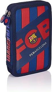 FC Barcelona Barca Fan 5 Trousses, 20 cm, 1.28 liters, Bleu (Navy Blue)
