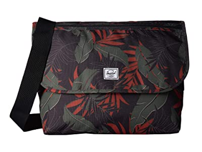 Herschel Supply Co. Grade (Dark Olive Palm) Messenger Bags