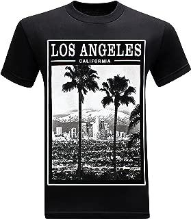 California Republic Los Angeles Twin Palms Men's T-Shirt