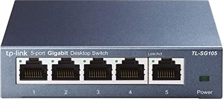 TP-LINK TL-SG105 5-Port Gigabit Ethernet Desktop Switch