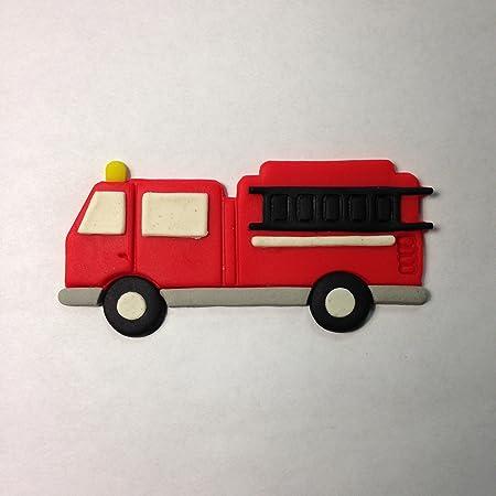 Instagram 3 Sizes Firetruck Fire Engine Cookie Cutter Fondant /& Biscuit