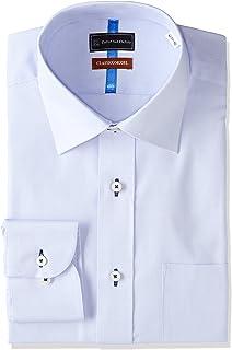 (ピーエスエフエー) P.S.FA 【部屋干し対応】 クラシコモデル 長袖 形態安定 ワイドカラーワイシャツ P152180014 85 ブルー