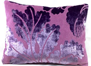 Pink & Lilac Décor Pillow Case Designers Guild Velvet Cushion Cover Fabric Leblond 16