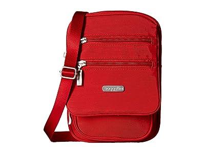 Baggallini Legacy Journey Crossbody (Apple) Cross Body Handbags