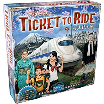 Ticket to Ride: Japan and Italy Map Collection