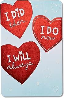 American Greetings Anniversary Card Romantic (Happy Anniversary Hearts)