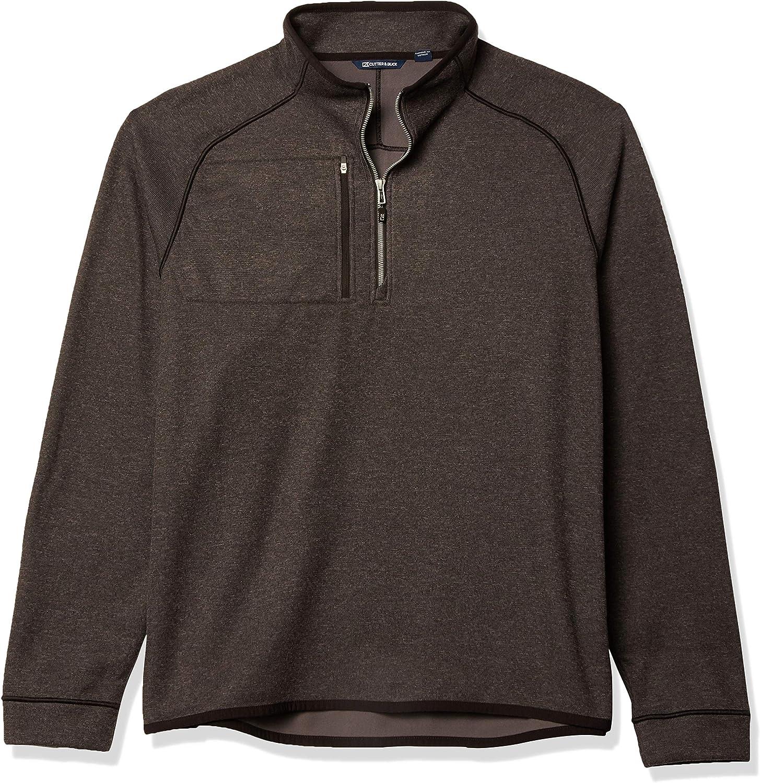 Cutter Buck Men's Max 89% OFF Excellent Half Zip Jacket