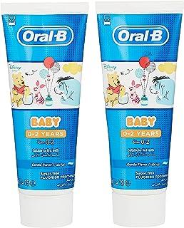 Oral B Baby Winnie The Pooh Toothpaste,75 ml, 0-2 Years, Pack of 2