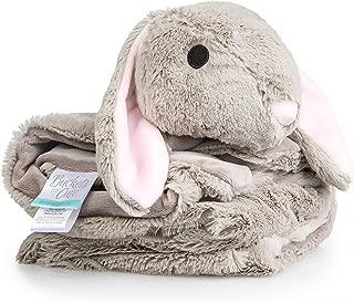 Plush, Knitted Fleece Baby Blanket - Large [30